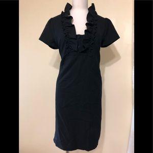 JCrew size 4 sassy black dress w pockets